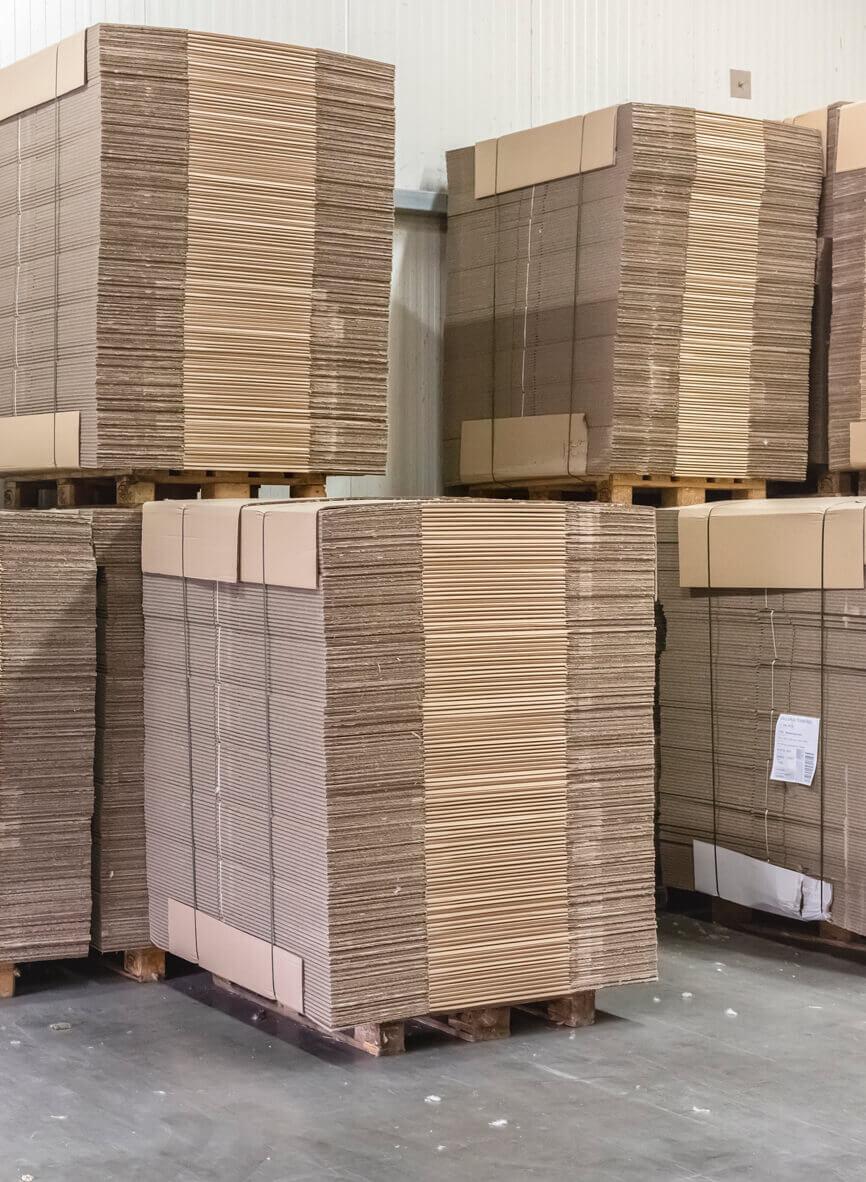 Modernstes Logistiksystem für schnelle Lieferungen